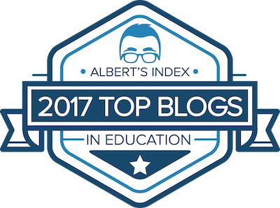Albert Index Top Blog Award - 2017